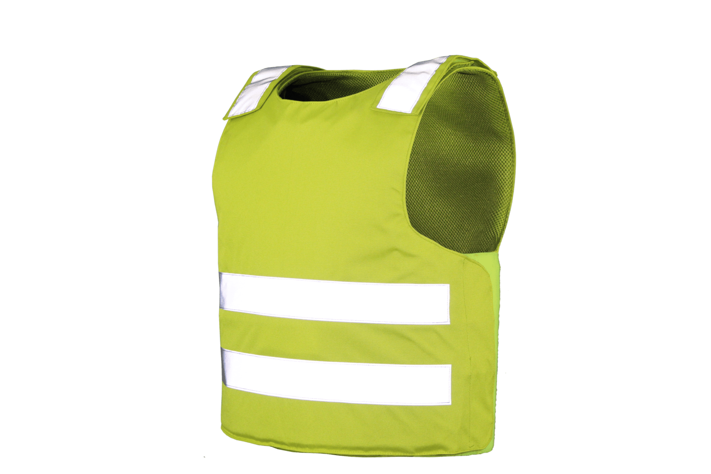Composites Solutions Overt Vest High Visibility Yellow 45 Degrees